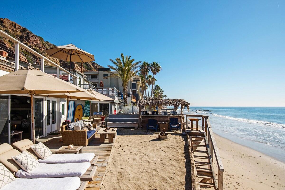 A quintessential beach house