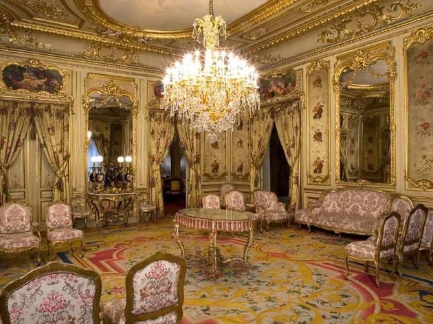 La influencia de los maestros españoles (Palacio Fernán Nuñez)
