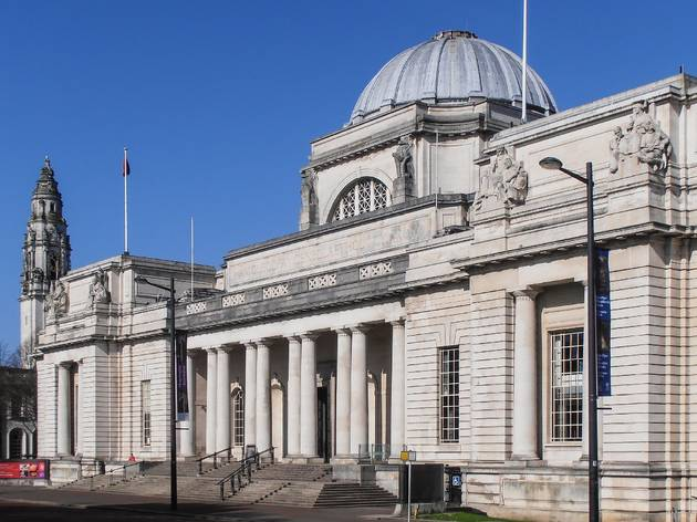 The National Museum in Cardiff is the centre of the capital's cultural scene