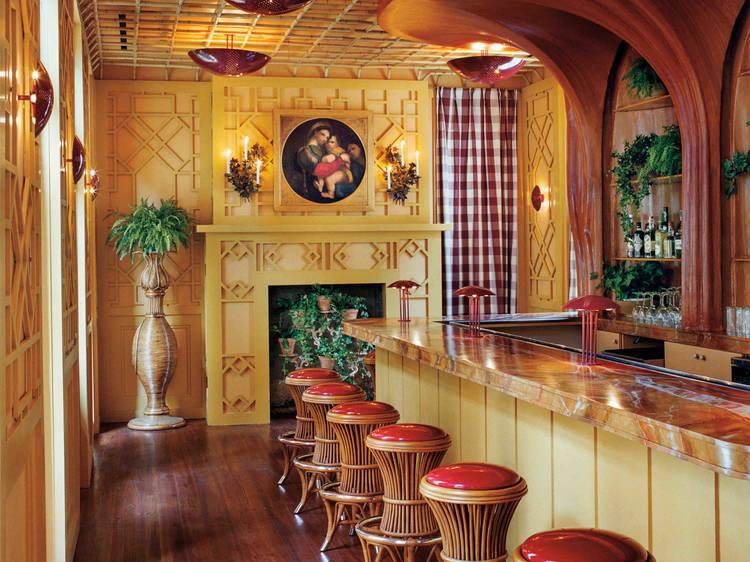 The Elysian Bar at Hotel Peter and Paul