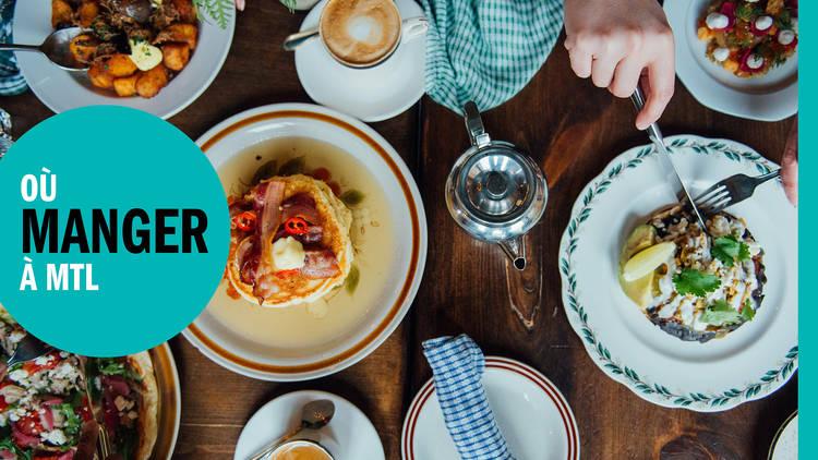 Les 71 meilleurs restaurants à Montréal