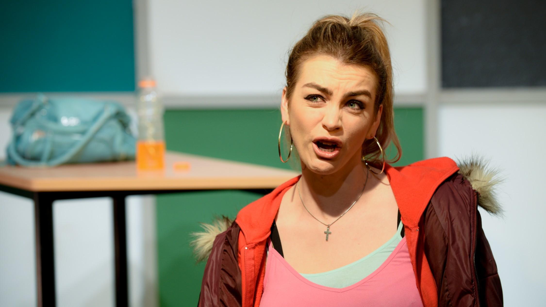 Jessica Clarke s working-class Effie in Iphigenia in Splott