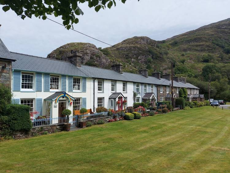 Learn about faithful Gelert in a gorgeous village