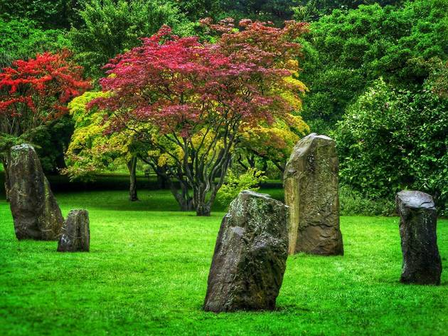 The Gorsedd Stones are just one attraction hiding in Cardiff's Bute Park