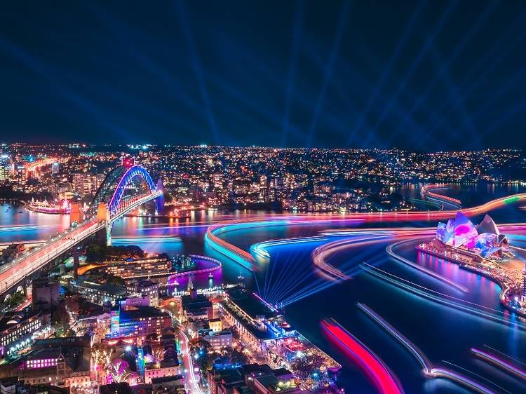 Vivid Sydney has been cancelled for the second year in a row