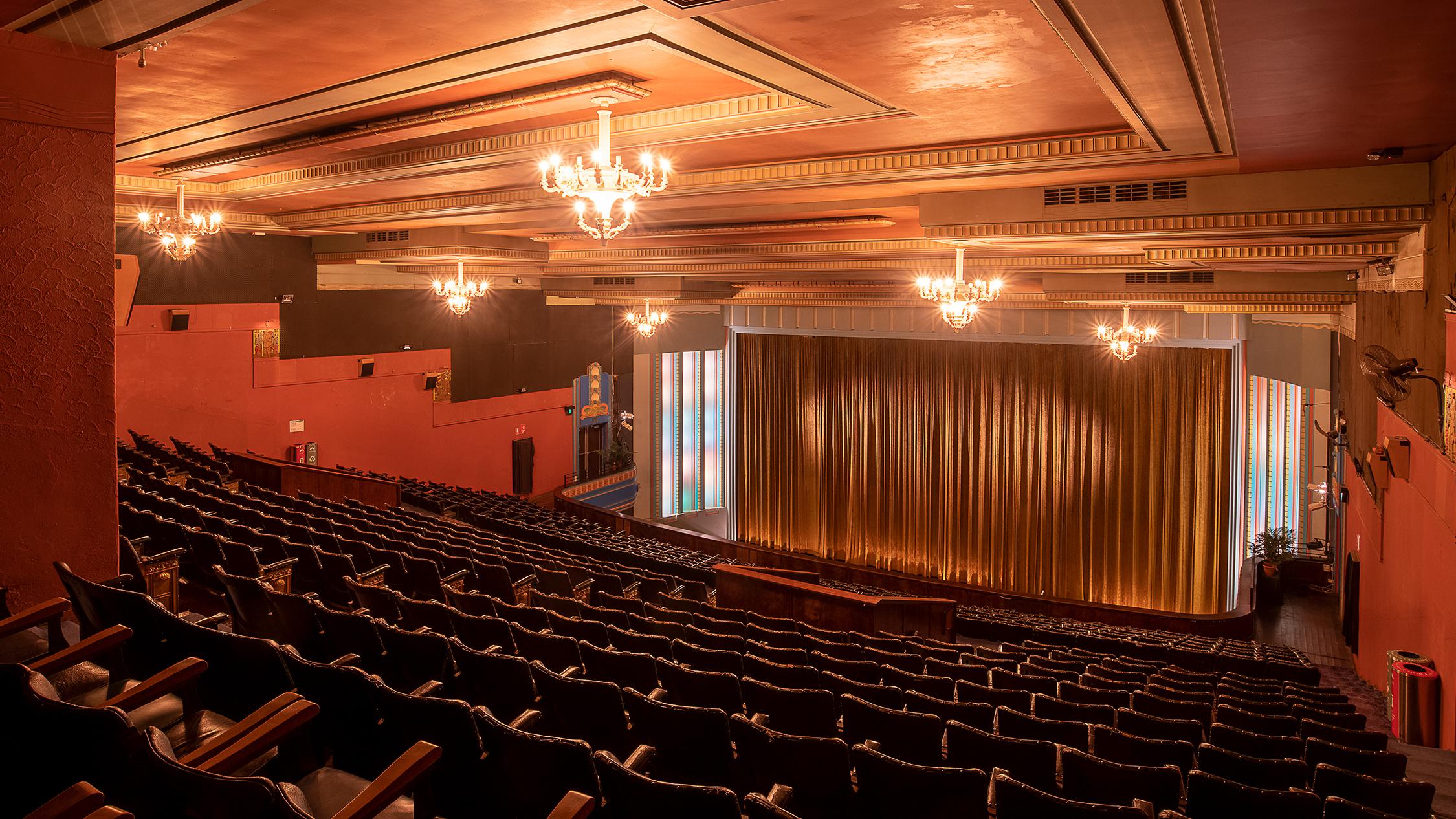 The Astor Theatre (Photograph: Carmen Zammit)