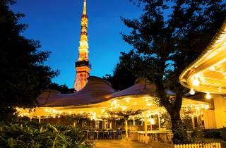 Tokyo Prince Hotel Beer Garden