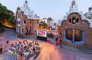 Cinema al Park Güell
