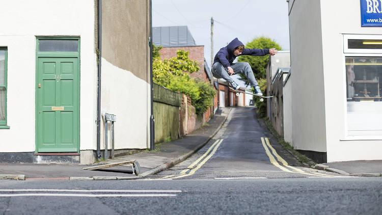 2. Mike Arnold, Ollie, Bristol 2014 © Reece Leung