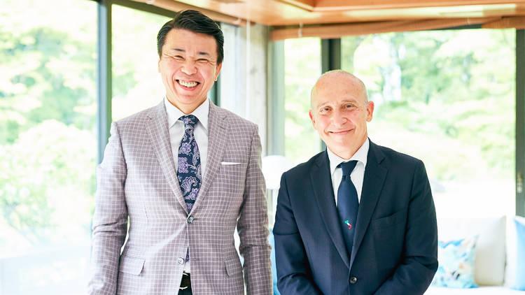 (L-R) Original Inc senior consultant Masashi Takahashi; Italian ambassador Giorgio Starace (Photo: Kisa Toyoshima)