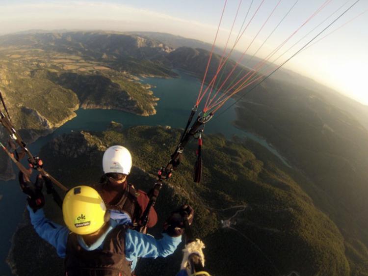 El Pirineo de Lleida por aire y por tierra