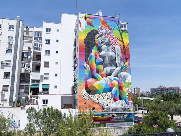 Okuda in Madrid