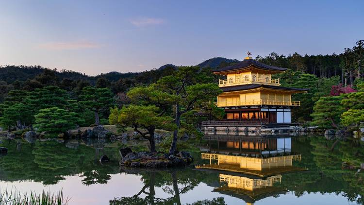 Golden Pavilion, Kinkakuji, Kyoto