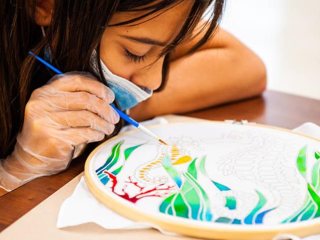Pour Your Art Out Workshop Arsht Center