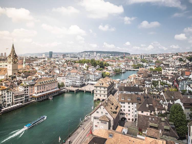 Du vert, de l'art et de l'air : Zurich s'offre à vous cet été