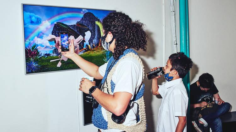 superchief gallery nft show