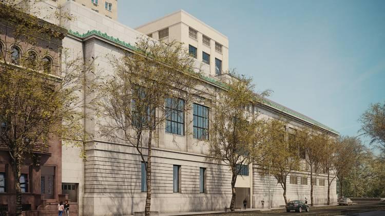 New York Historical Society expansion