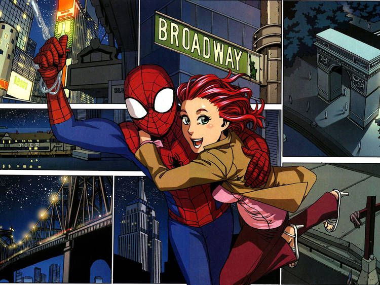 Spiderman Loves Mary Jane