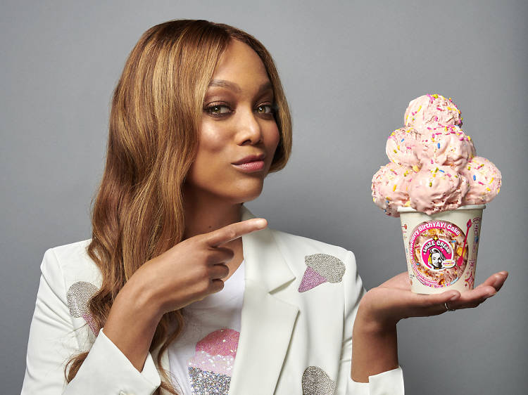 Tyra Banks is opening a smizing-inspired ice cream shop in Santa Monica