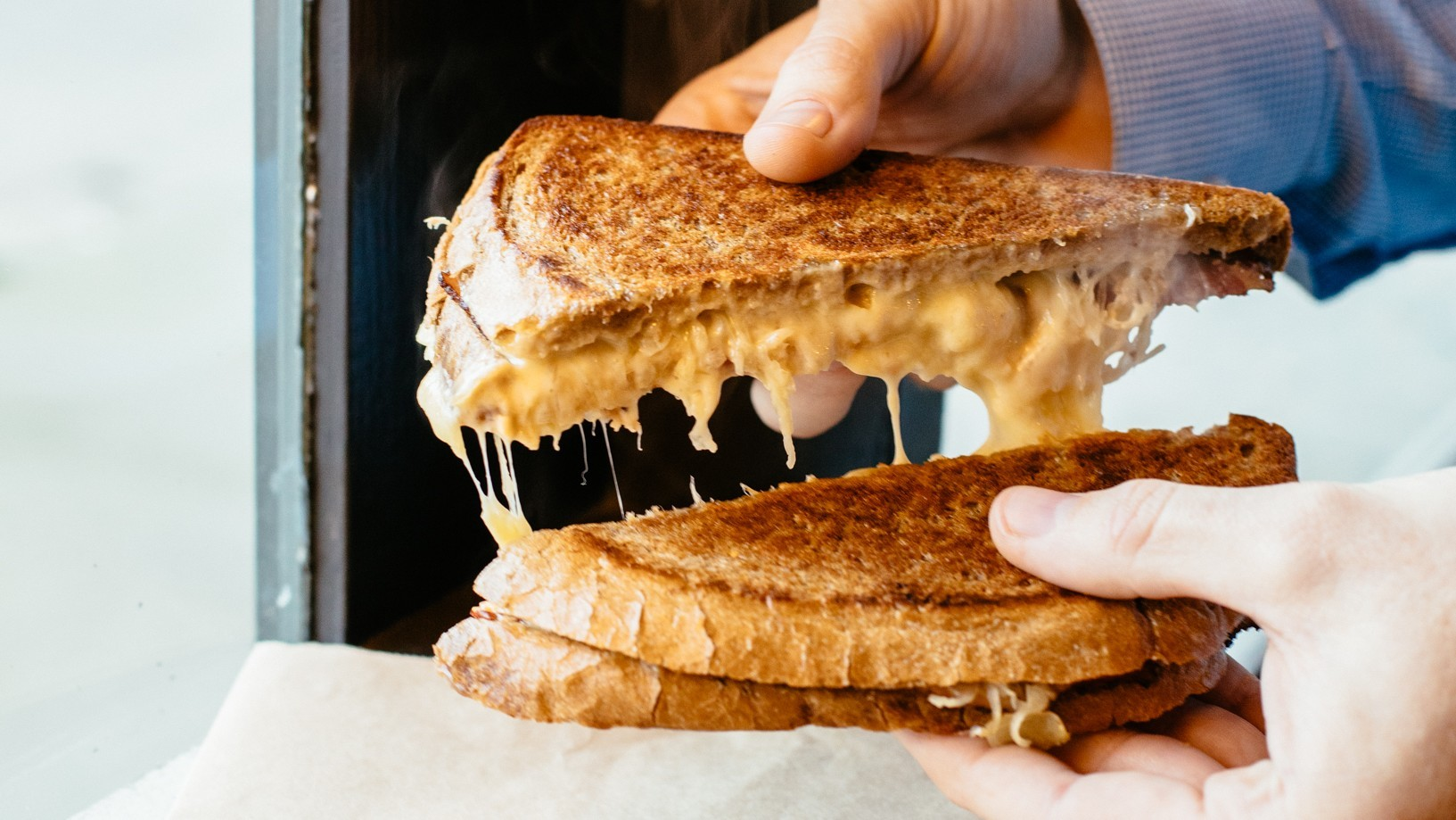 Opal cheese toastie
