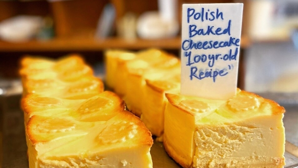 Monarch Cakes Polish baked cheese cake
