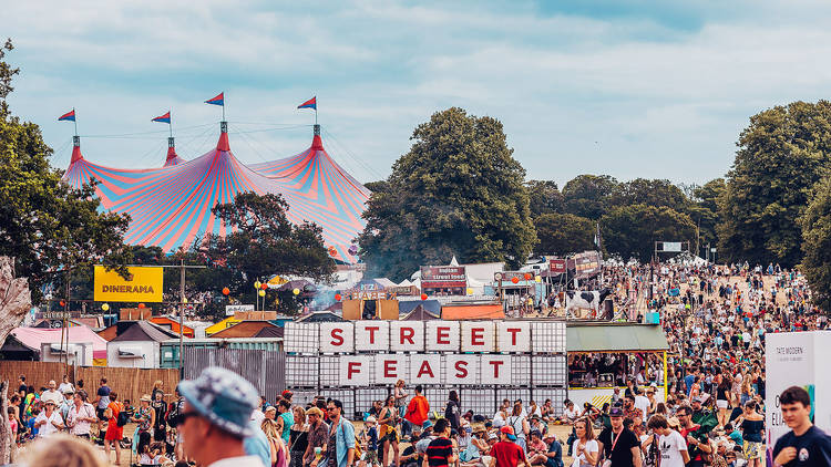A festival by day