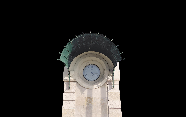 Relógio no Cais do Sodré