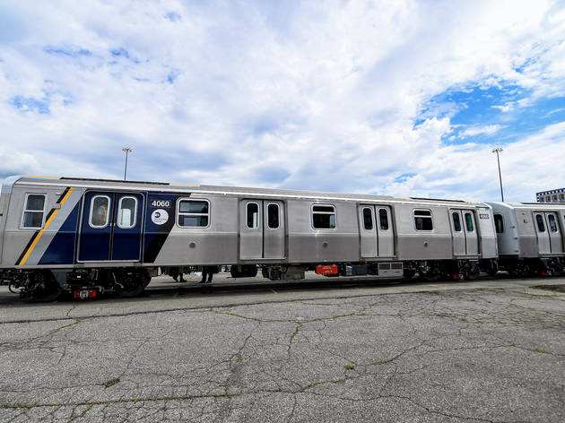 Check out the MTA's futuristic new subway cars with open gangways