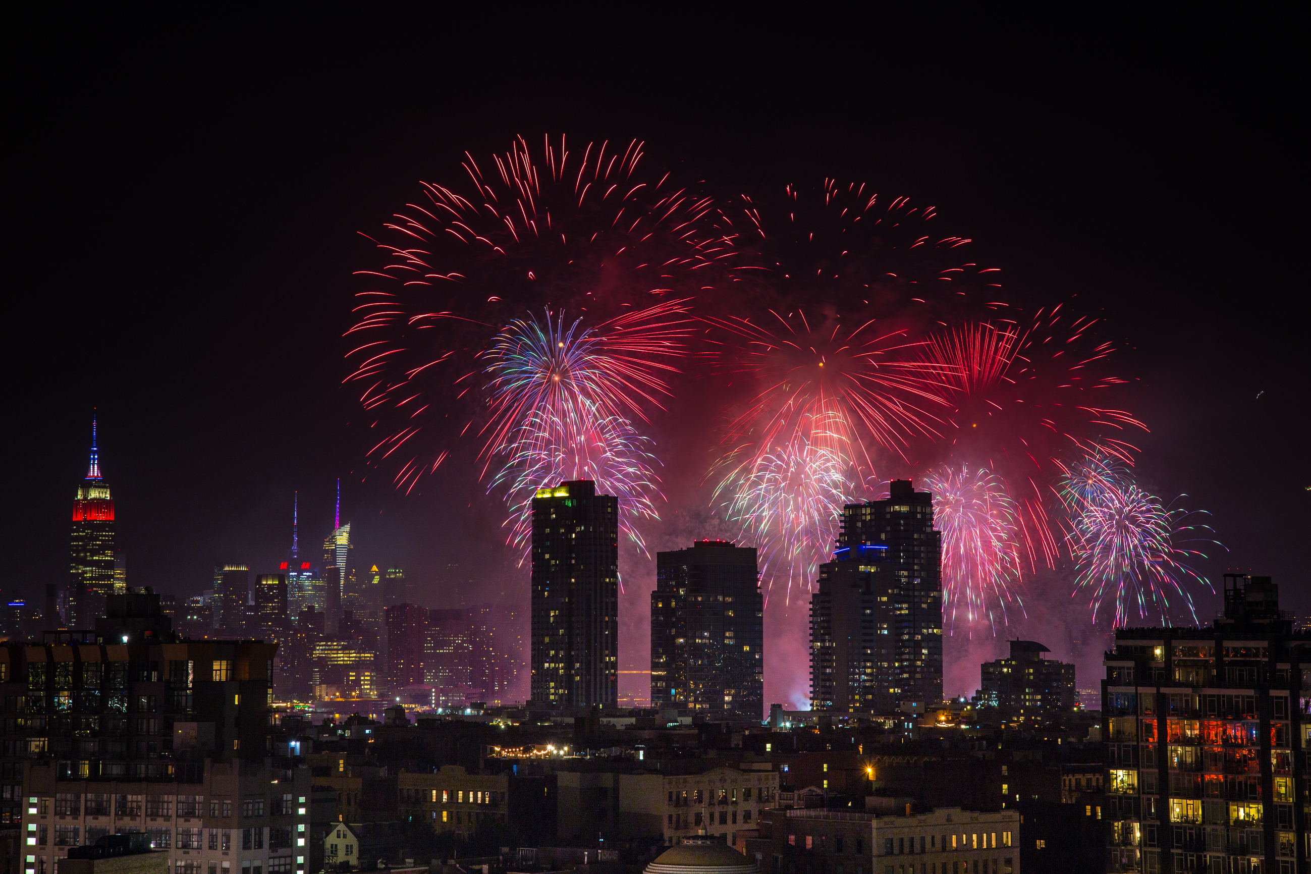 Here's where the Macy's Fireworks are actually happening this year
