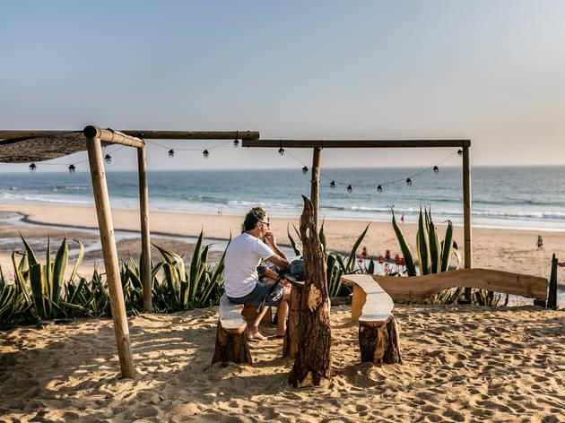Restaurante, Bar, Magic Cactus, Esplanada, Praia