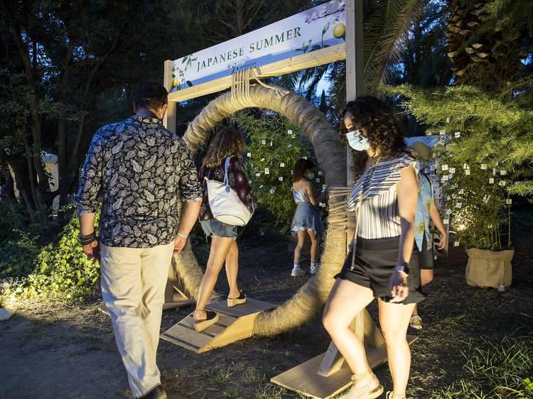 Un racó japonès al Festival de Pedralbes