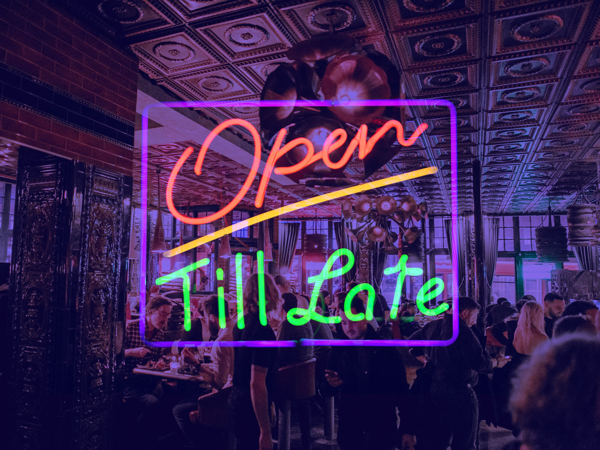Late-night bars and pubs