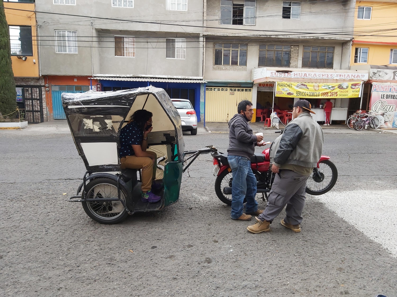 Canalla, arte a bordo de un mototaxi