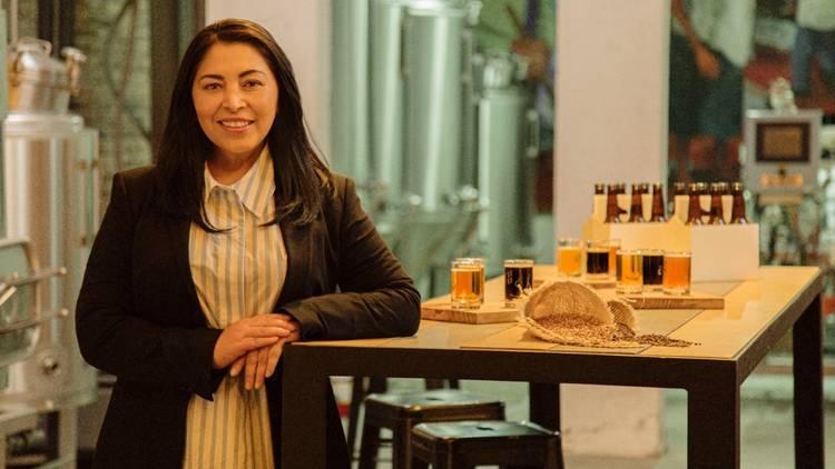 Elizabeth Rosas, Cervecería Calavera