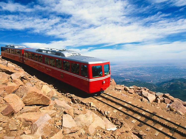 Pikes Peak Cog Railway, Manitou Springs