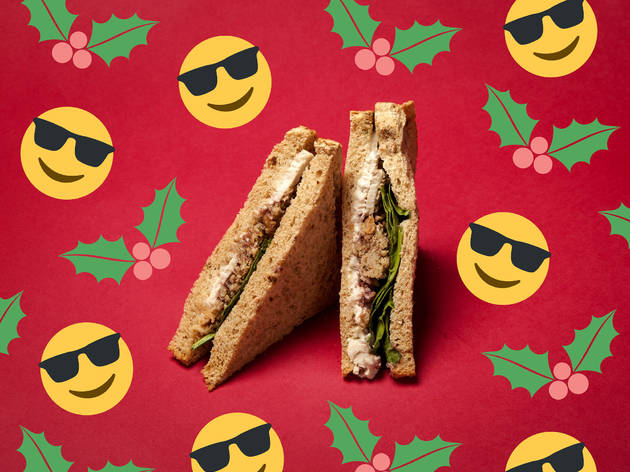 Pret are selling their famous Christmas sandwich... in July
