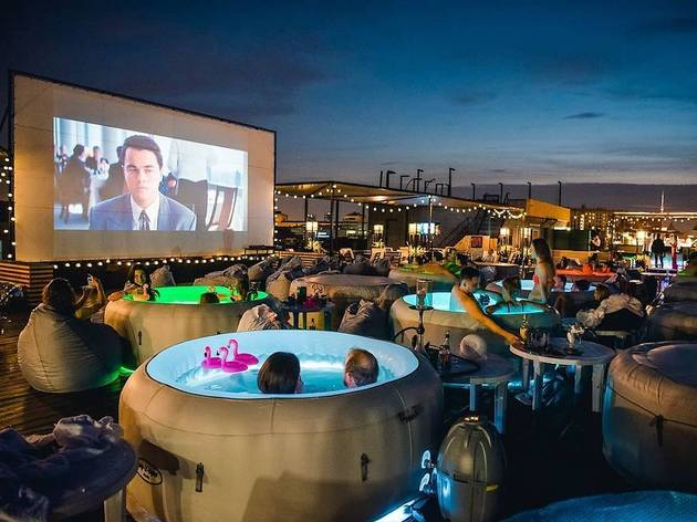 A rooftop hot tub cinema is coming to South Beach—because why not?