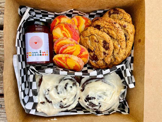 Gemini Bakehouse bakery box