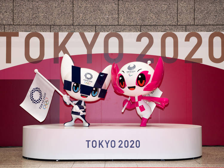 Where to get official Tokyo 2020 Olympic and Paralympic merchandise in Tokyo