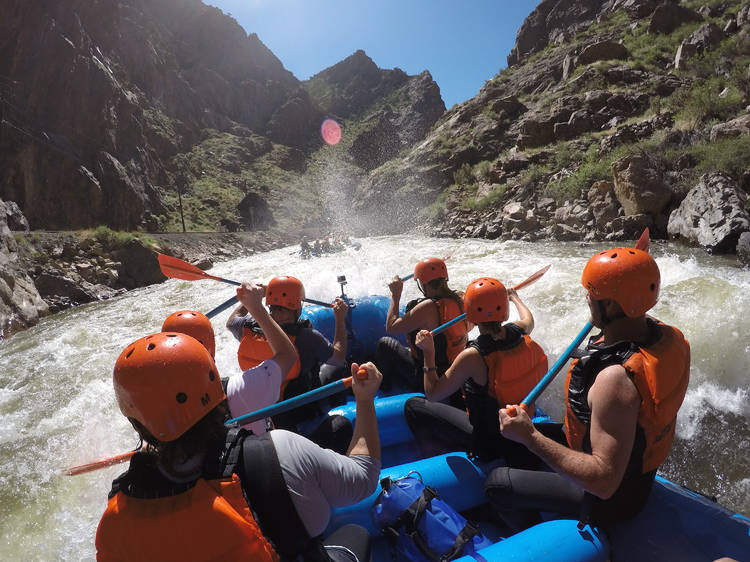 Echo Canyon River Expeditions, Cañon City