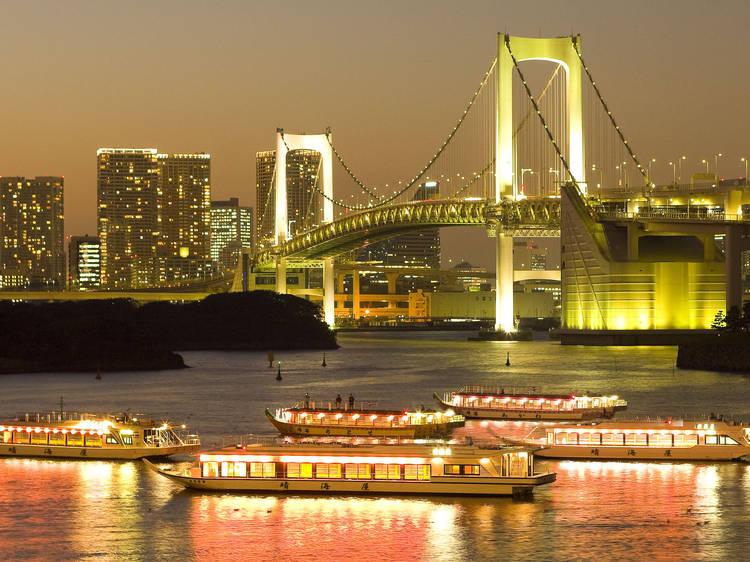 Cruise Tokyo Bay on a Yakatabune Harumiya