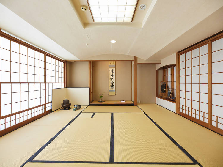 Participate in a tea ceremony at Masudaya