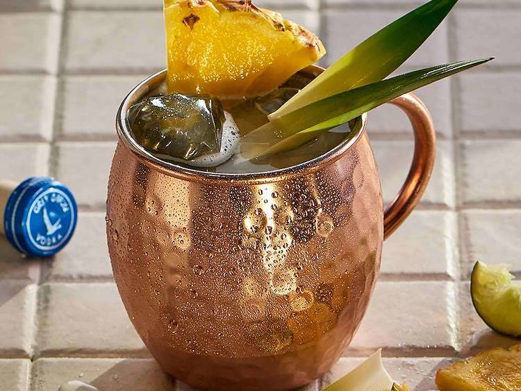 Grey Goose French Mule