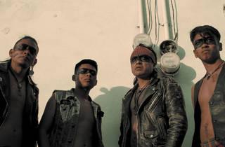 Los Cogelones, banda de Ciudad Neza