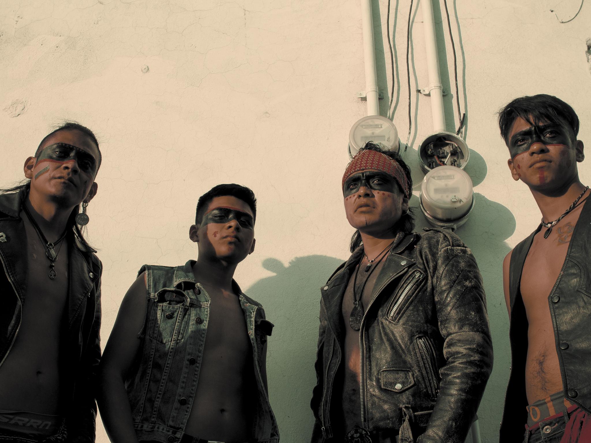 Los Cogelones, rock prehispánico desde Nezahualcóyotl