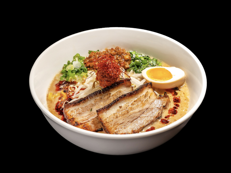 At Mr. Taka Ramen at Time Out Market, they taste ramen all day long