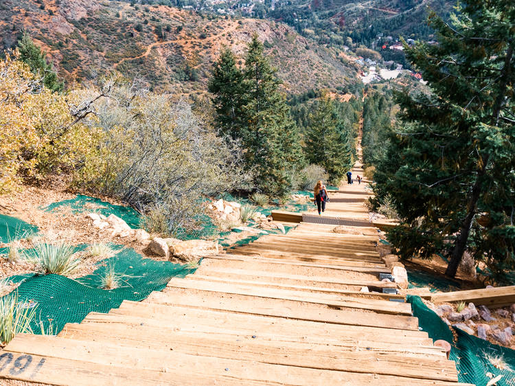 Fourteeners (or the Manitou Incline)