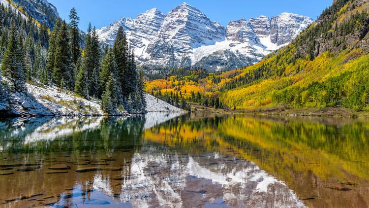 Maroon Bells Maroon Lake Aspen