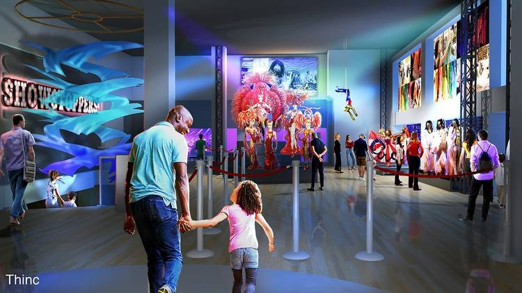 rendering of upcoming exhibition