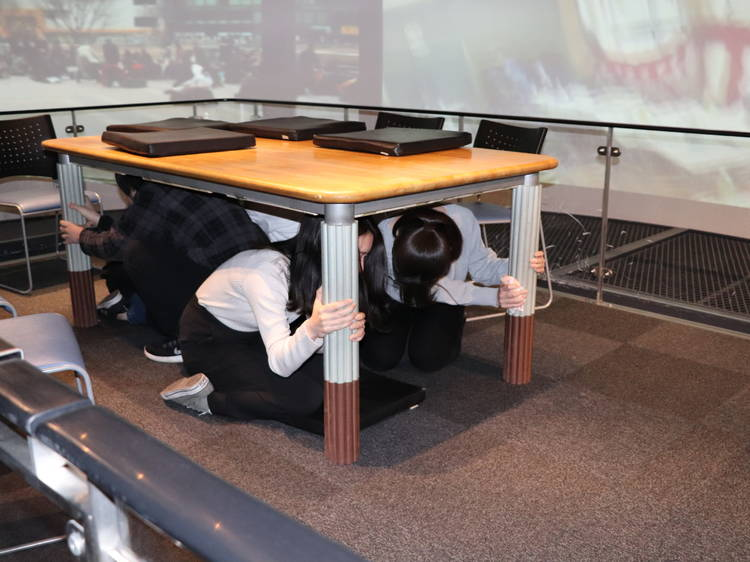 Pick up some emergency safety skills at Ikebukuro Bosaikan